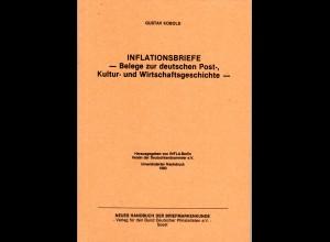 Kobold, Inflationsbriefe - Belege zur deutschen Post-...u. Wirtschaftsgeschichte