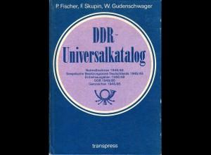 transpress DDR-Universalkatalog m. Notausgaben, SBZ, DDR usw., 712 S.