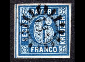 Bayern 10, MR 135 FREILASSING auf breitrandiger 6 Kr.