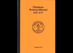 MÜNCHEN: Karg, K.B., Münchener Sonderpoststempel 1945-1977, 189 S. mit Bewertung