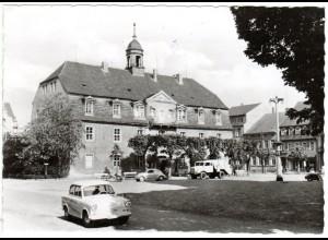 DDR 1963, Landpost Stpl. ZEISCHA über Bad Liebenwerda auf sw-AK m. 10 Pf.