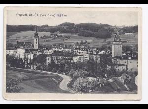 Freystadt Ober Österreich, sw AK. #876