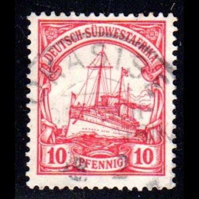 DSWA 17, 10 Pf. m. Stpl. OKASISE