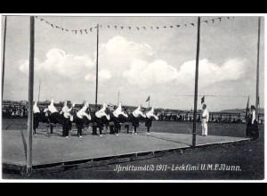 Island, JÞróttamótið 1911 - Léckfimi U. M. F. Jðunn. Einar Gunnarsson no. 31.