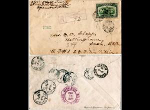 Kanada 1933, 13 C. Economic Conference auf Einschreiben Brief v. Egremont