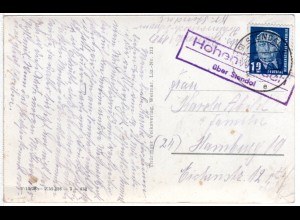 DDR 1952, Landpost Stpl. KÖTTEWITZ Heidenau Land auf 12 Pf. Ganzsache