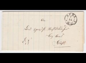 Baden, K2 Bühl auf Orts Brief. #1517