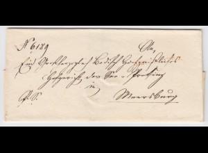 Baden, L1 NEUSTADT R.2 in rot auf schönem Brief n. Meersburg. #2029