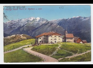 Italien, Südtirol, Albergo Passo Giovo di Vipiteno, Sterzing gebr. Farb AK. #175