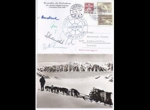 Grönland Arktis Polarpost, Peary Land, AK v.d. 1. dt. Nordpol Expedition #844