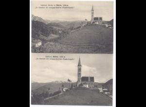 Italien, Aldein Aldino, Südtirol, 2 sw AK zu Gunsten d. neug. Musikkapelle. #282