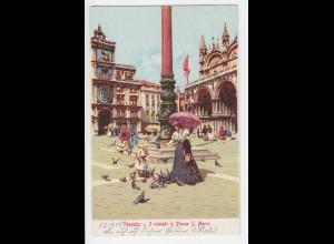 Italien, Venedig Venezia, S. Geremia, ungebr. Farb AK. #1110