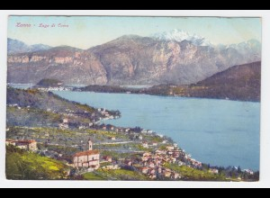 Italien, Lombardia, Lenno Lago di Como, Comer See, ungebr. Farb AK. #2006
