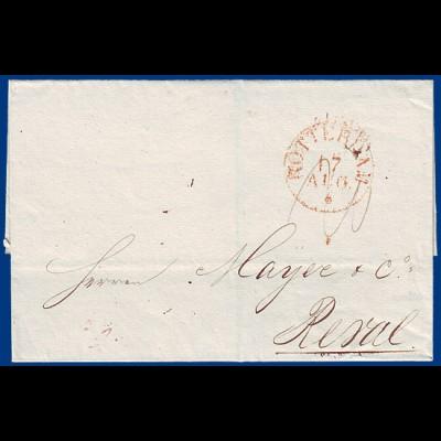 NL 1833, Portobrief v. Rotterdam n. Reval, Russland. #S707