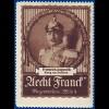 Sachsen, König Friedrich August III., Vignette #S653