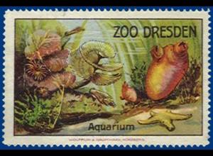 alte Vignette Zoo Dresden, Aquarium #S372