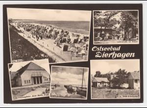 Ostseebad Dierhagen, gebr. sw-Mehrbild-AK