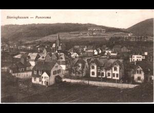 Dieringhausen, Panorama,1921 gebr. sw-AK.