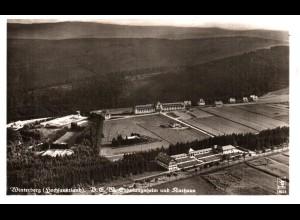 Winterberg, Erholungsheim Luftaufnahme, 1941 gebr. sw-AK.