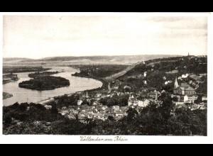 Vallendar am Rhein, gebr. sw-AK.