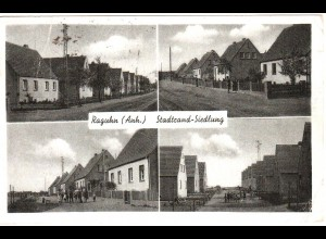 Raguhn, Stadtrandsiedlung, gebr. sw-AK.