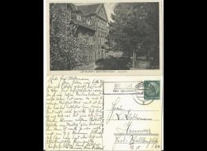 DR 1934, Landpost Stpl. Kirchdorf ü. Hannover auf AK Barsinghausen m. 6 Pf.