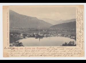Bayern 1899, Gruß aus Egern am Tegernsee, gebr. Otto Hayd sw AK. #2490
