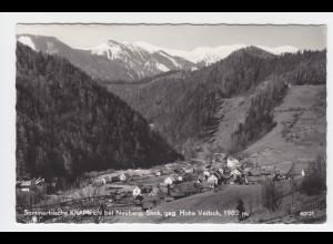 Österreich, Steiermark, Krampen bei Neuberg, gebr. Foto AK. #2272
