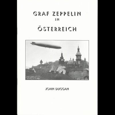 J. Duggan, Graf Zeppelin in Österreich, 80 S. m. Abb. u. Bewertungen!