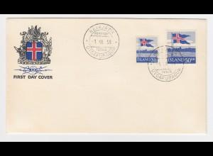 Island 1958, FDC 327/28