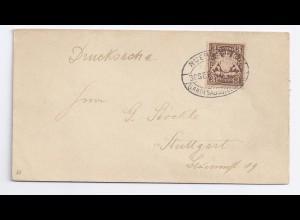 Bayern 1896, Nürnberg Landesausstellung, Sonderstempel auf Drucksache!. #1398