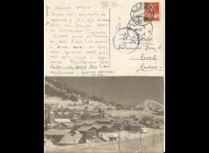 Schweiz 1925, Landesausstellung Bern, Sonderstpl. auf entspr. sw-Foto-AK m 10 C