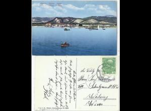 Albanien, Valona, ab Zadar gebrauchte Farb AK. #2146